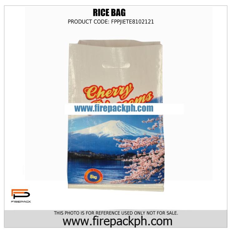 rice bag supplier cebu philippines