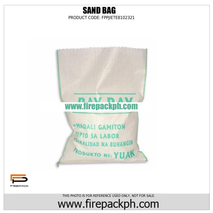 sand bag supplier