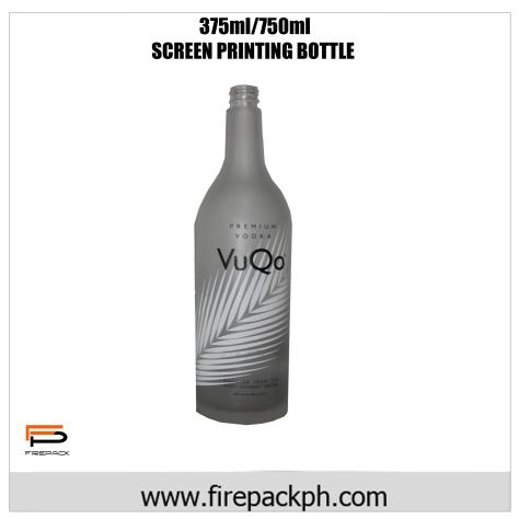 Screen priting bottle