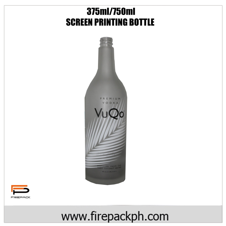 Screen priting bottle