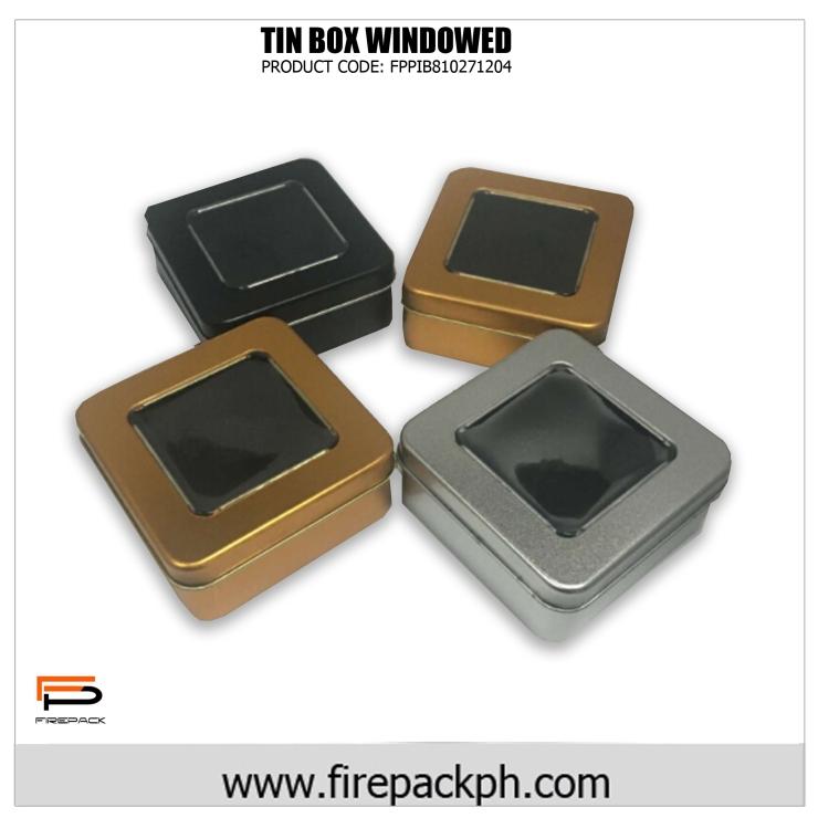 tin can windowed box colored