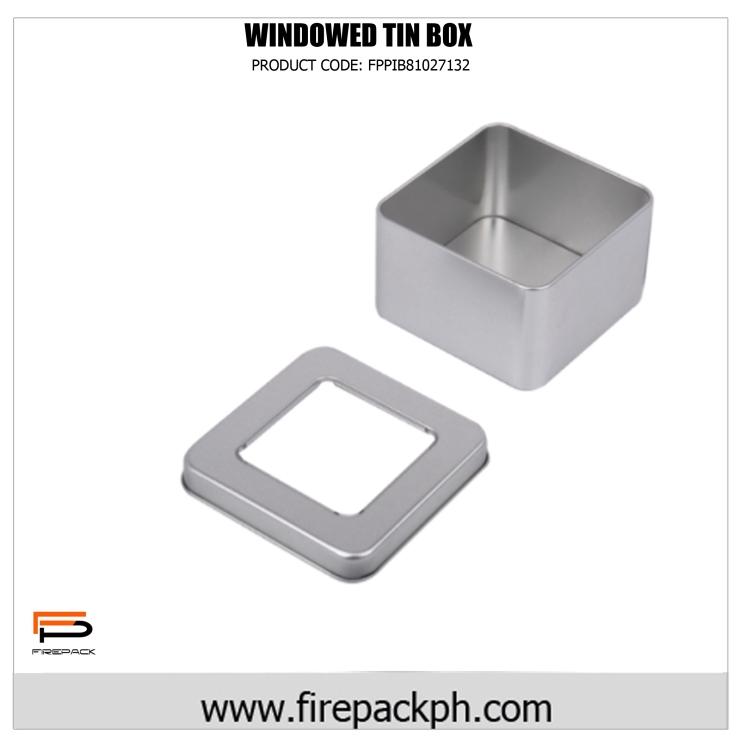 tin can windowed box
