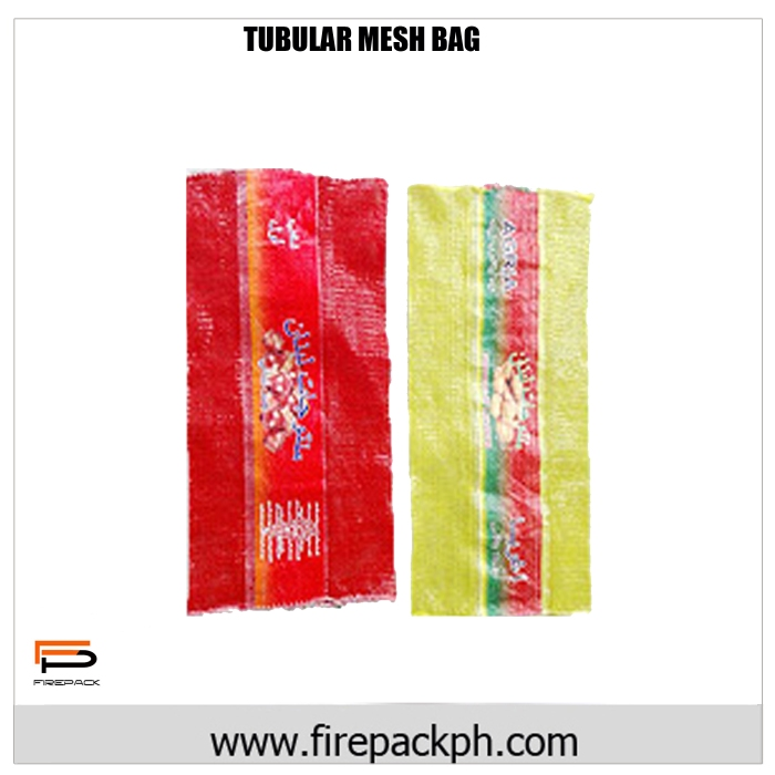 tubular mesh bag