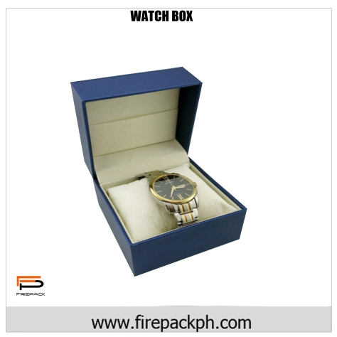 watch box blue