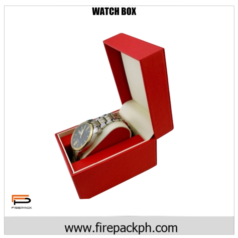 watch box red color