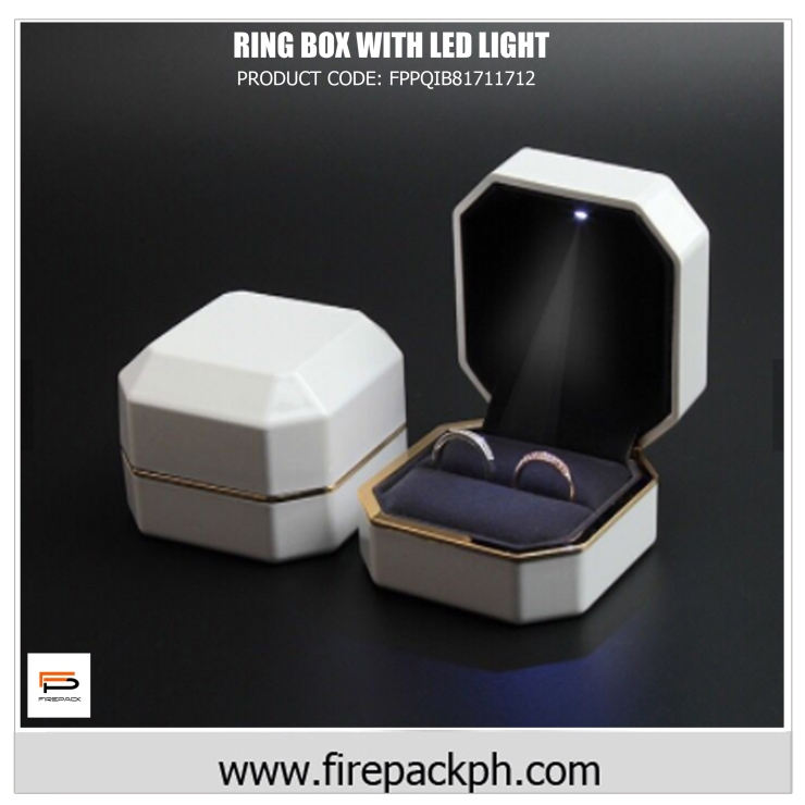 wedding ring box with led