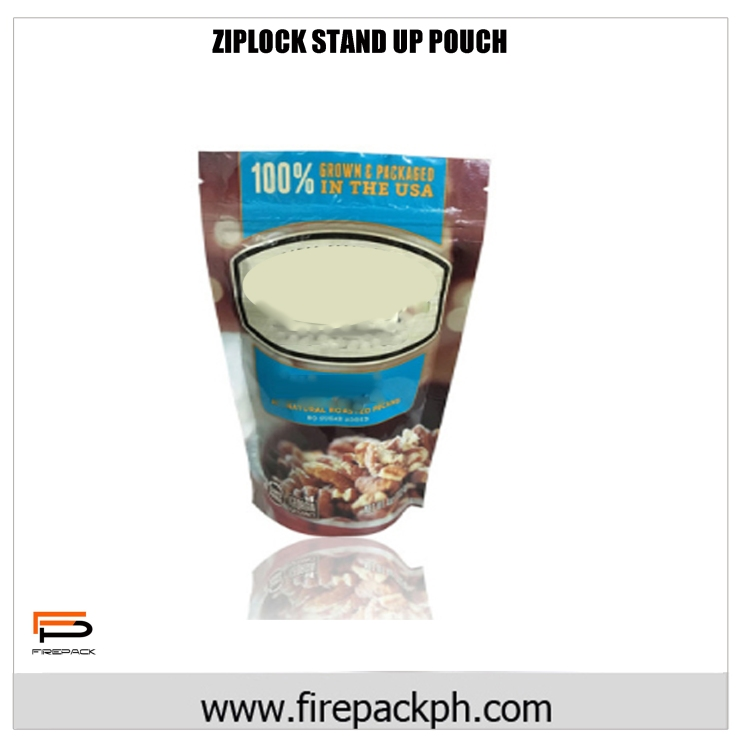 ZIPLOCK STAND UP POUCH