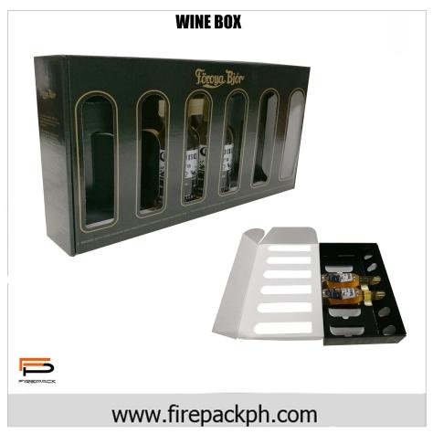 1 box 6 wines carton