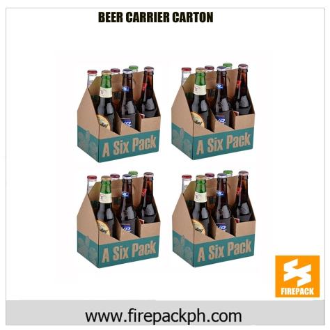 beer carton carrier maker firepack 6 pax
