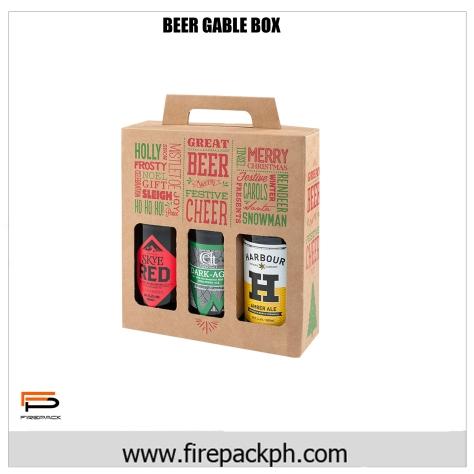 beer gable box corrugated carton