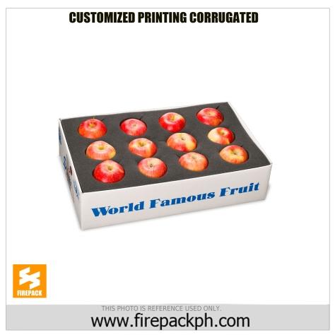 box for apple custom print