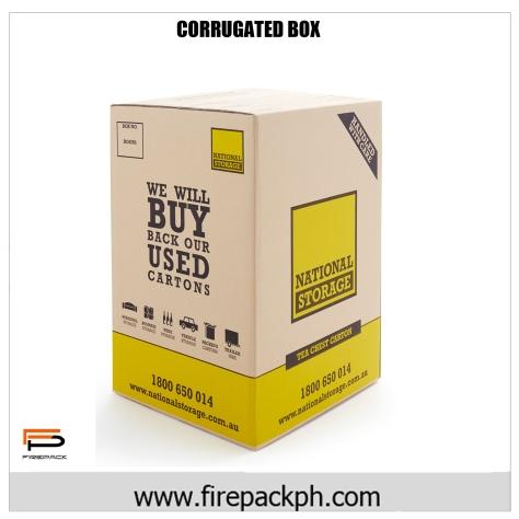 brown kraft tea box carton