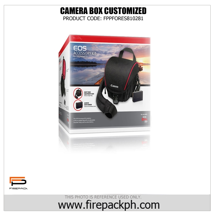 camera box firepack packaging