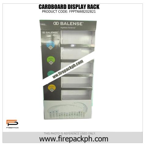 cardboard display rack cebu maker