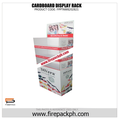 cardboard display rack cebu supplier