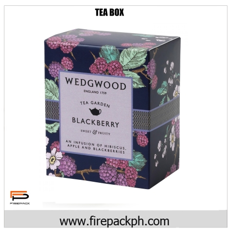 colorful tea box claycoat