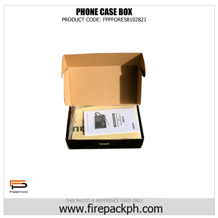 corrugated box cellphone