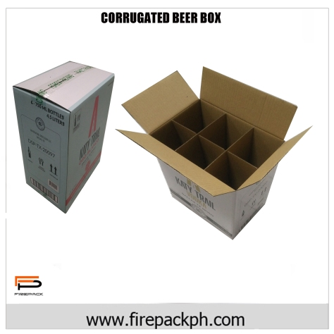 corrugated box for beer carton box