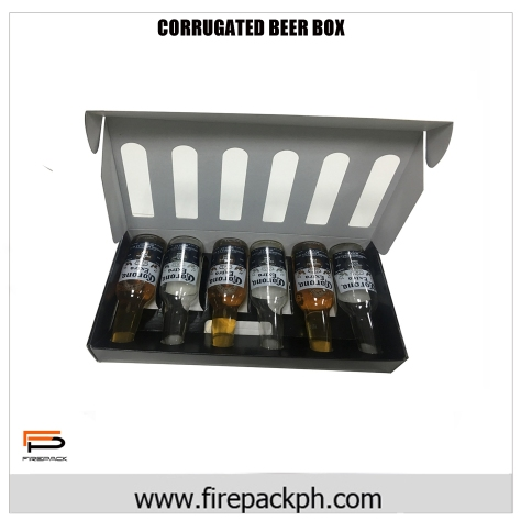 corrugated box for beer customized carton