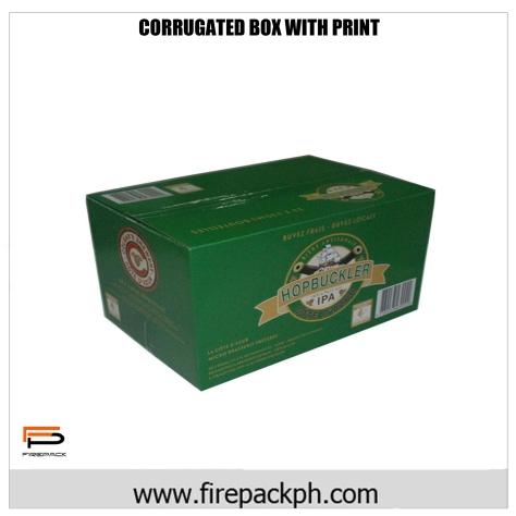 corrugated carton box customize
