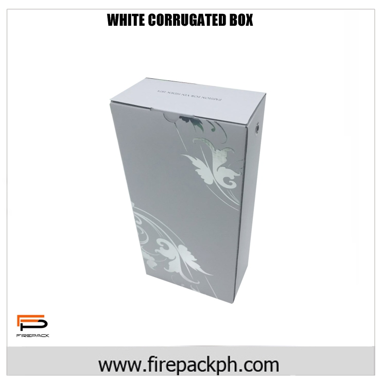 CORRUGATED WHITE BOX