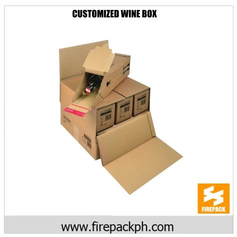 custmomized wine box maker phiippines