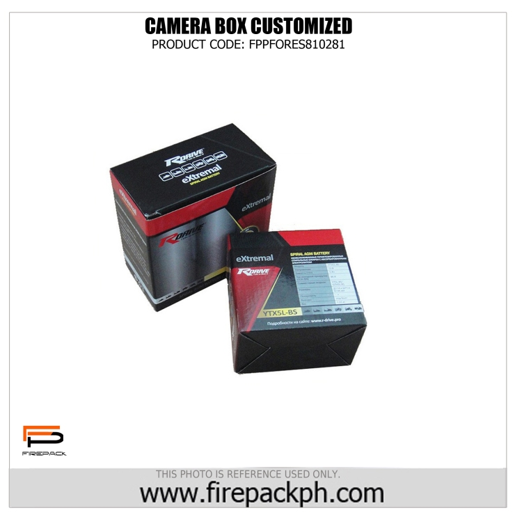 custom box for camera maker firepack