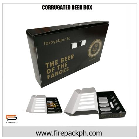 customized beer box