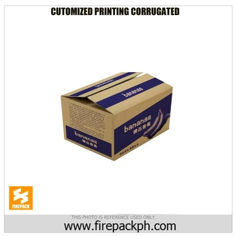 customized print corrugated box firepack