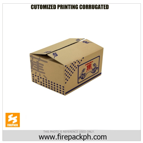 customized printing corrugated box firepack