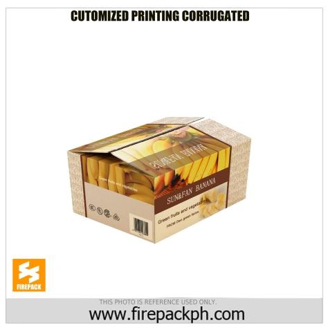 customized printing corrugated box