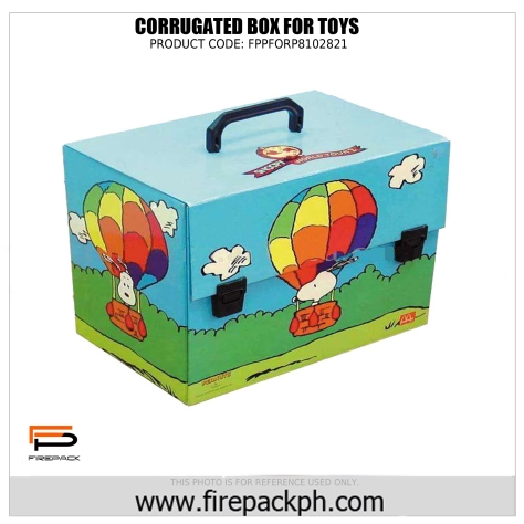 cutomized toy box supplier firepack