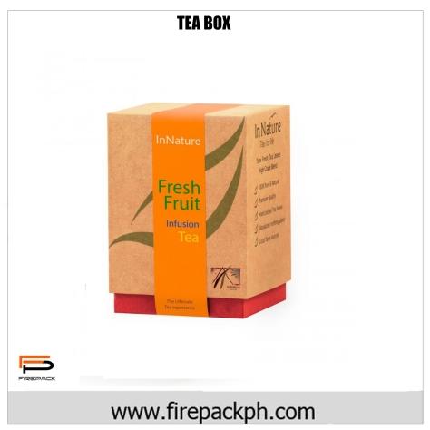 fashion tea box claycoat