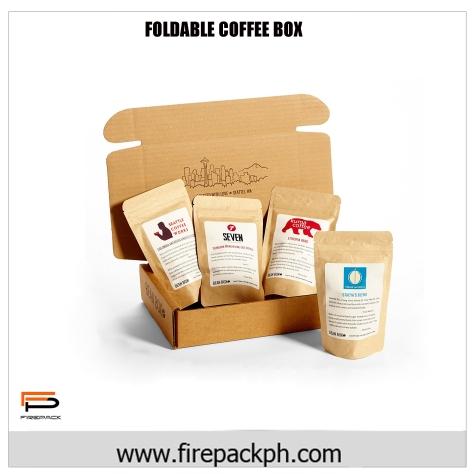 foldable coffee box