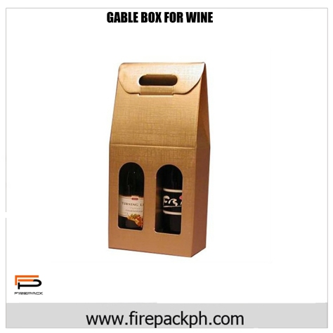 gable box for wine