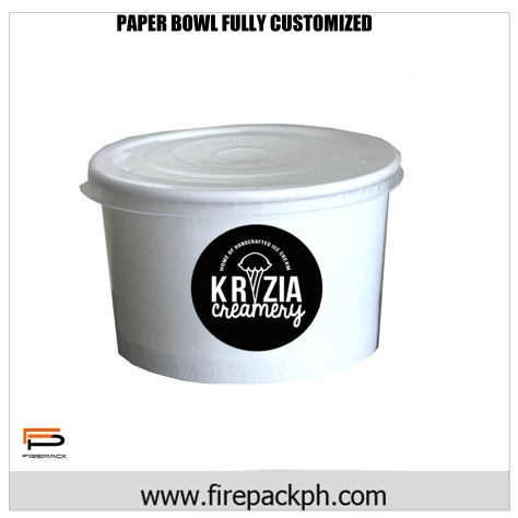 paper bowl customized priting philippines