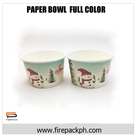paper bowl full color