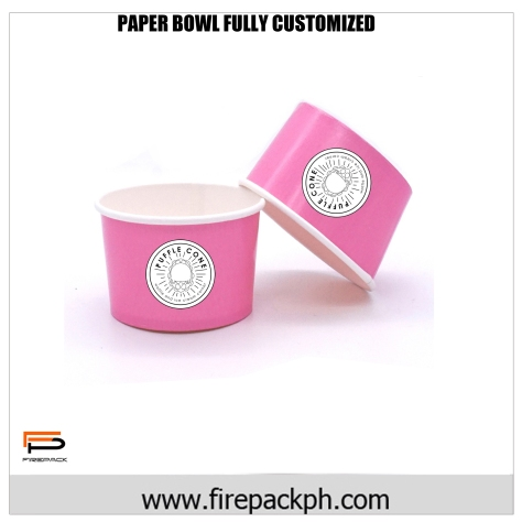 paper bowl full customized