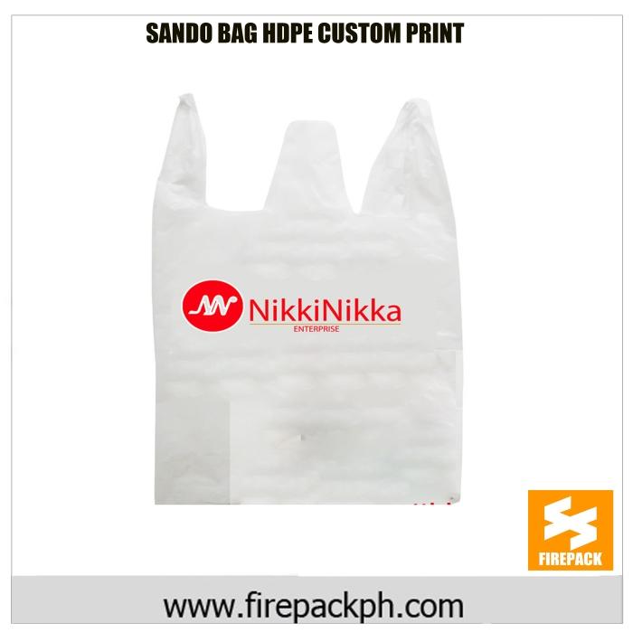 sando bag custom printing logo firepack]