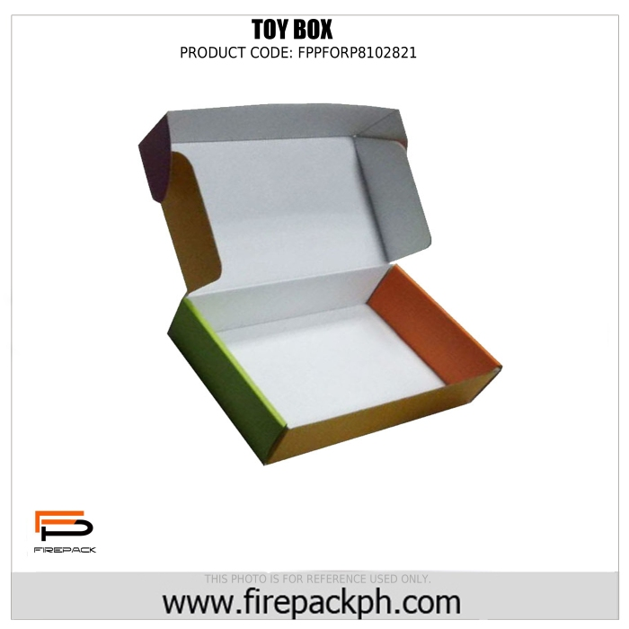 toy box custom printing