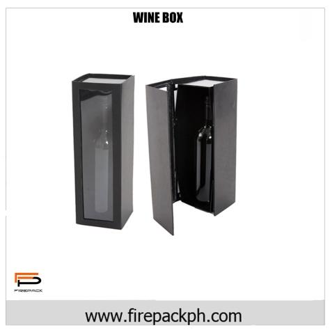 wine box 4 corrugated wine box