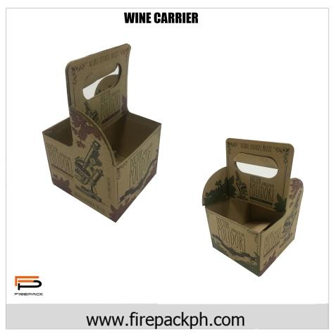 wine box carrier