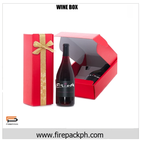 wine box corrugated box
