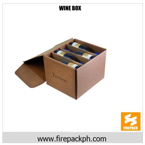 WINE BOX supplier cebu customized