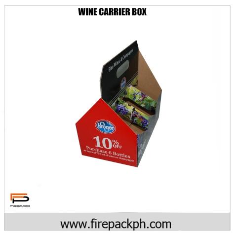 WINE CARRIER BOX