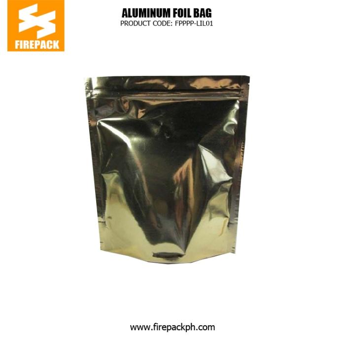 Aluminum Foil Coffee Bag Packaging Zipper Top Gravure Printing , One Side Clear supplier firepack