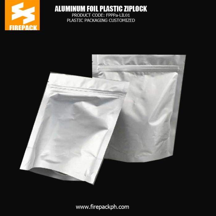 Aluminum Foil Plastic Ziplock Bags For Packing Chicken cebu supplier