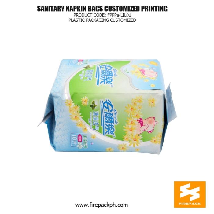 Beautiful Sanitary Napkin Bags , Sanitary Napkin Disposal Bags For Women firepack
