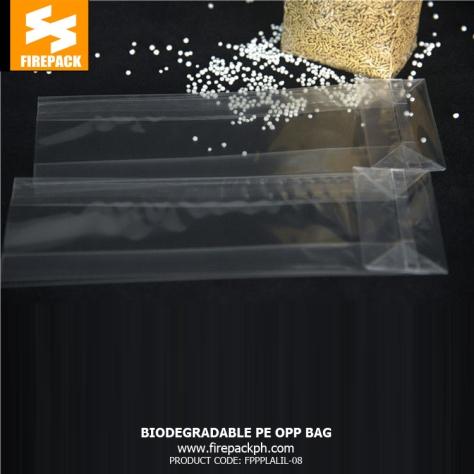 Biodegradable Pe Opp Packaging Bags , Heat Sealable Plastic Bags firepack packaging