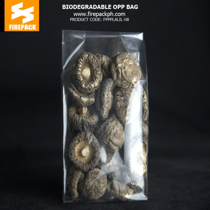 Biodegradable Pe Opp Packaging Bags , Heat Sealable Plastic Bags In Stock for sale